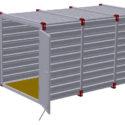 Potřebujete uskladnit věci z domácnosti a nemáte vhodné prostory? Pořiďte si skládací kontejner!