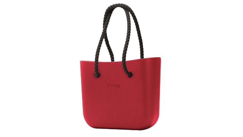 O bag kabelka Fragola s černými dlouhými provazy