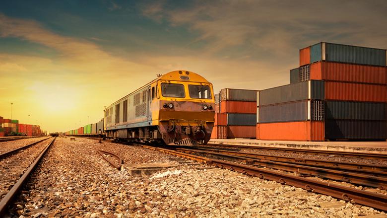 Foto: železniční přeprava