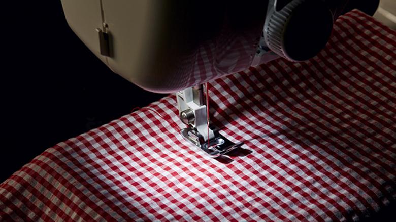 foto: kvalitní šicí stroj