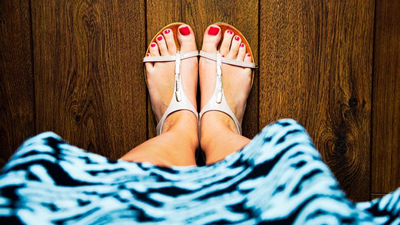 Foto: péče o nohy