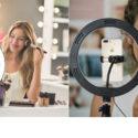 Prstencová lampa – nezbytnost pro beauty profesionály i youtubery