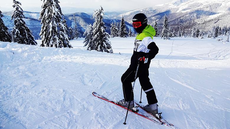 Fotografie: lyžař