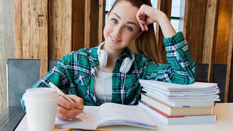 Fotografie: student