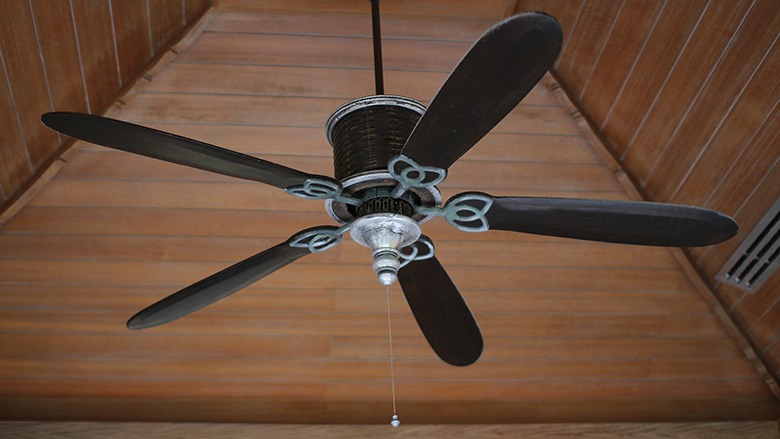 Fotografie: ventilátor